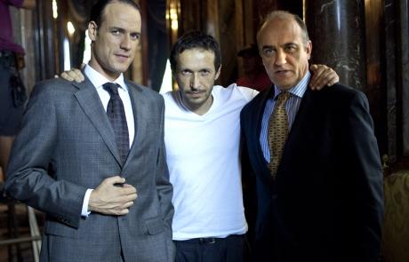Daniel Grao, Salvador Calvo y Francesc Orella