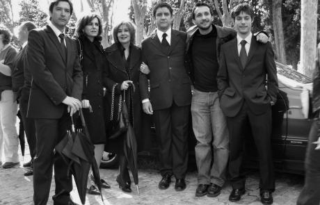 Gines GªMillán, Ana Gracia, Concha Velasco. Pedro Casablanc, Salvador Calvo y Jan Cornet