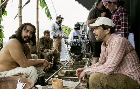 Raymond Bagatsing y el director Salvador Calvo