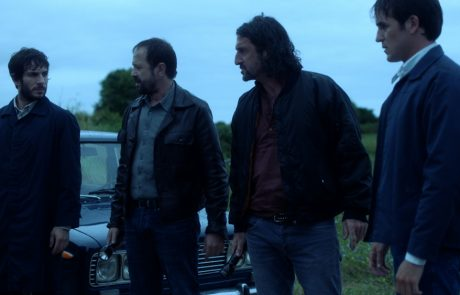 Quim Gutiérrez, Patxi Freitez, Luis Zahera y Edu Lloveras