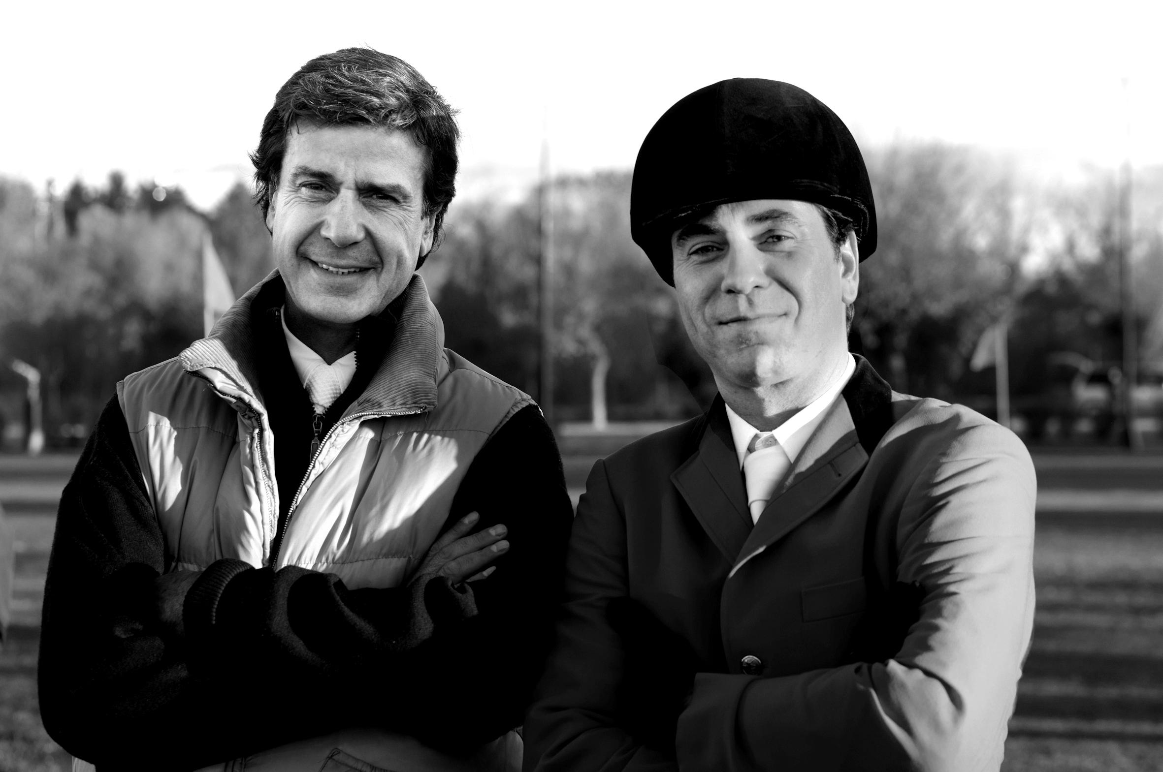 Cayetano Fitz-James Stuart y Javier Collado