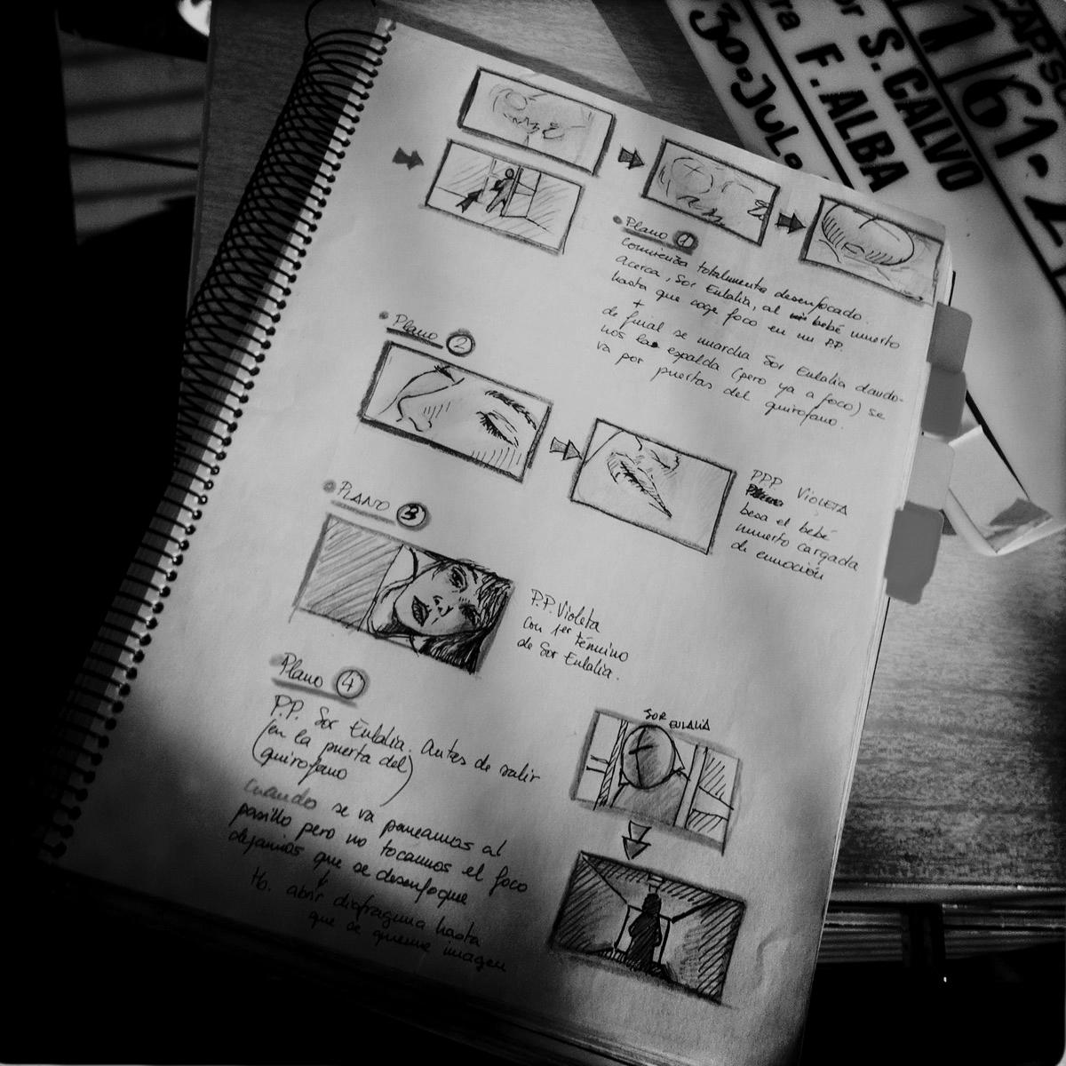 Guión con Storyboard