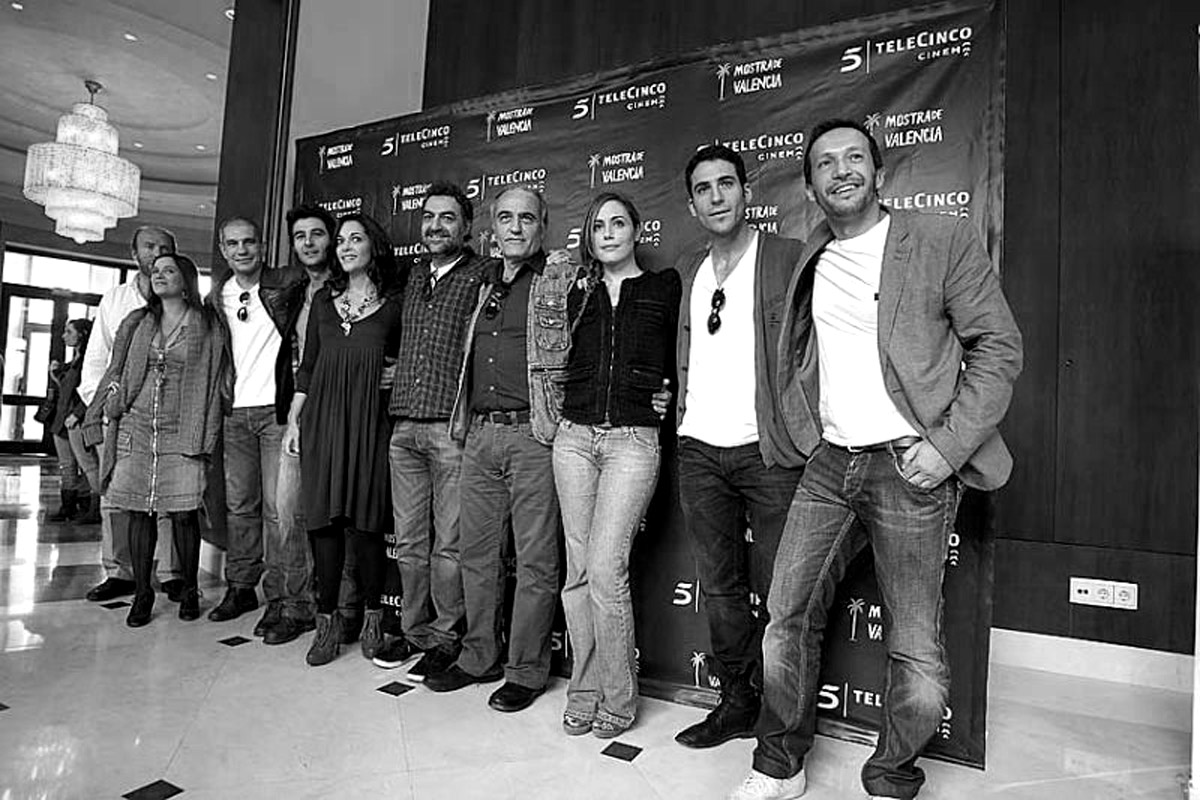 Rueda de prensa en la Mostra de Valencia