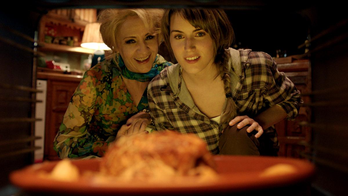Blanca Portillo y Aitana Hercal