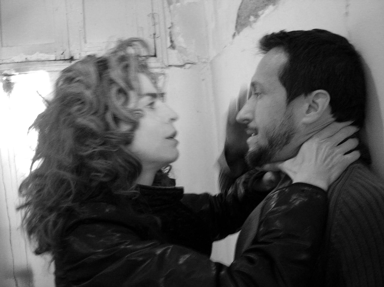 Liz Lobato y Salvador Calvo
