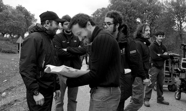 Borja Grandio (ayte dirección), Salvador Calvo, Federico Bayón (2ºayte dirección), y Juanjo Sánchez (2ºoperador)