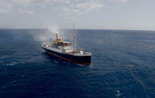 Barco rumbo a Baler
