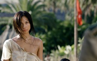 Alexandra Masangkay intenta negociar la paz