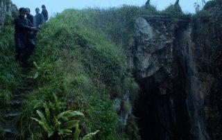Descenso del acantilado